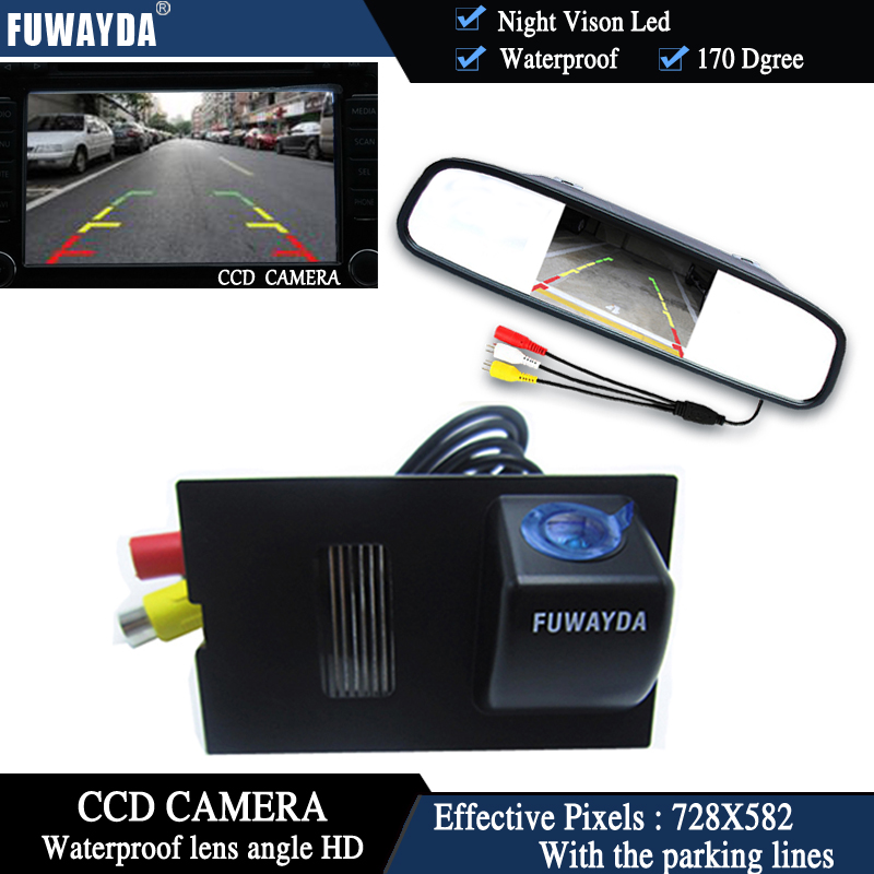 FUWAYDA CCD Car Rear View Camera For Land Rover Discovery