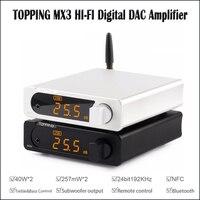 TOPPING MX3 USB DAC Audio Amplifier Hifi Bluetooth DAC Amp PCM5102A Digital Amplifier Bluetooth with Headphone Amplifier output