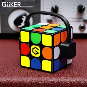 Image 2 - [Обновленная версия] Оригинальный Интеллектуальный супер куб Giiker i3s AI умный волшебный Магнитный Bluetooth приложение синхронизация головоломки игрушки