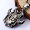 Hot Sale Anime Bleach Necklace Kurosaki Mask Logo Pendant Necklace Cosplay Accessorie Jewelry Free Shipping Wholesale Retail