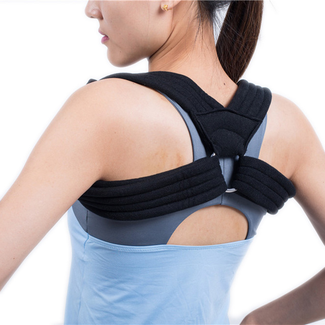Posture Corrector Clavicle Support Clavicle Brace Back Supporter Belt Clavicle Immobilizer HKJD