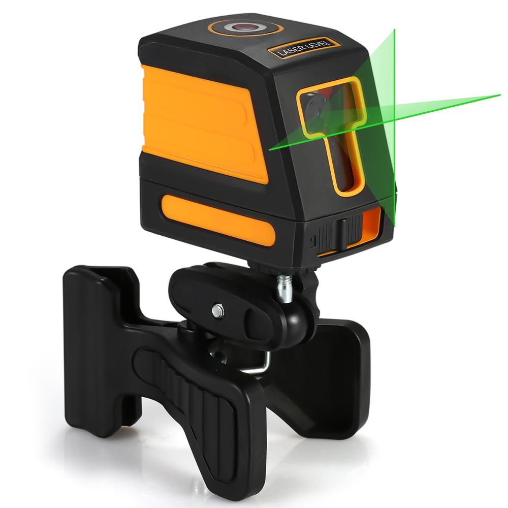 Laser auto-nivelant Level360 Profession horizontale verticale croix 2 lignes vert nivellement Laser niveau Kit avec trépied en option