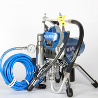 High Pressure Airless Paint Sprayer Waterproof Spray Painting Tools for Paint and Decorating