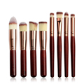 8pcs/pack Makeup Brushes Professional Cosmetic Make Up Brush Set Cosmetic Powder Foundation Eye Shadow Brow Makeup Brushes Kit