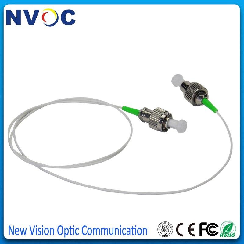 50 шт./лот, 1,5 м 0,9 мм куртка ПВХ SM SX FC APC Волоконно-оптическая косичка, FC/APC Одномодовый симплексный волоконный косичка/Jumpler кабель