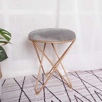 Modern minimalist dressing table stool new creative makeup chair dressing chair Nordic home fitting room stool stool WF6101002