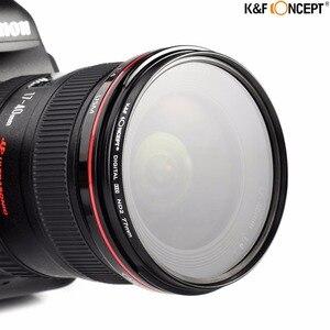 Image 3 - K & F CONCETTO ND Lens Filter Kit 52/55/58/62/67/72/ 77 millimetri ND2 + ND4 + ND8 + Bag + Panno Pulito Per Nikon Canon DSLR Filtro a Densità Neutra