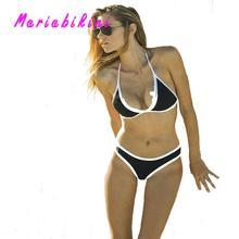 Высокий Разрез Бикини женщин купальники Майо Де Бэйн Push Up Купальник Женщин Trikinis Сексуальная микро мини biquinis Бикини 2016