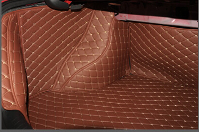 no odor customized full covered pu leather waterproof cargo rugs non slip carpets car trunk mats for HondaCivic Sedan