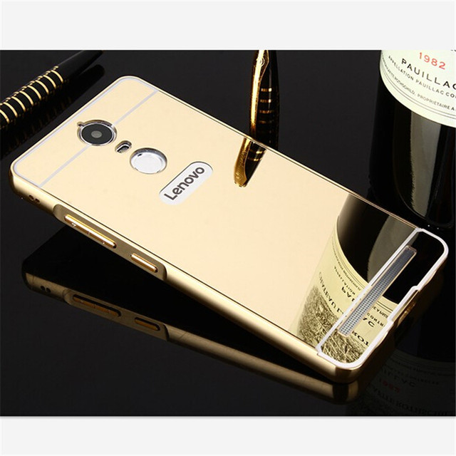 the best attitude 458db b4afb Luxury Mirror Ultra thin Aluminum Metal Back Cover Case For Lenovo Vibe K5  Note Phone cases Shell on Aliexpress.com | Alibaba Group