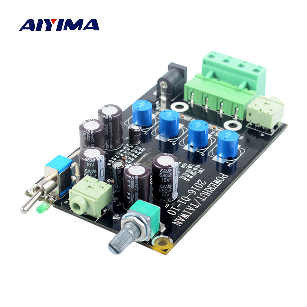 Aiyima YDA138-E YAMAHA Digital Audio Amplifier Board 10W+10W Dual Channel Amplifier Board DC9-13.5V aiyima hi fi pam8610 audio amplifier board 15w 2 class d dual channel digital amplifier board dc12v