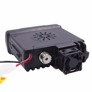 Image 4 - Baojie BJ 318 Mini Vehicle Mount Car Radio Station 256CH 10km 25W Dual Band VHF/UHF Mobile Radio Transceiver Upgrade of BJ 218
