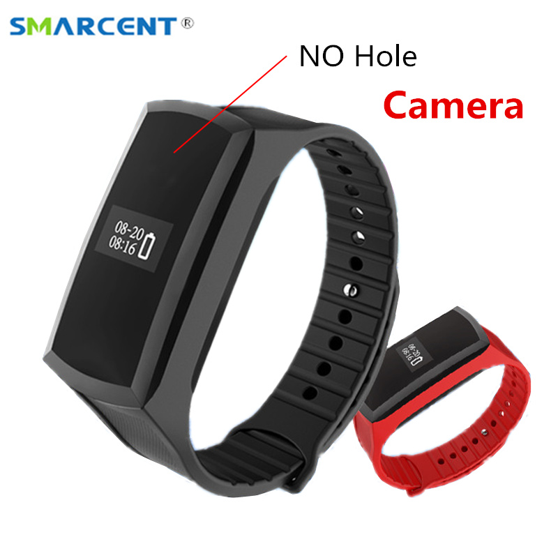 SMARCENT X18 Smart Band Mini Hd 1080 P Mini Camcorder Schrittzähler Armband Geheime Kamera Stimme Video Recording Cam