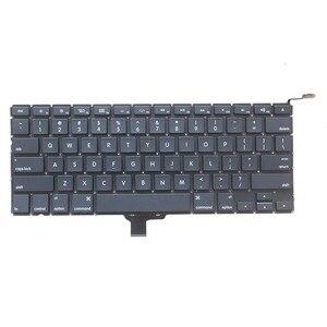 Image 1 - لوحة مفاتيح كمبيوتر محمول أمريكية جديدة 2009 2012 لاستبدال أبل ماك بوك برو A1278