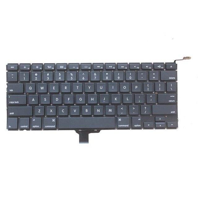 لوحة مفاتيح كمبيوتر محمول أمريكية جديدة 2009 2012 لاستبدال أبل ماك بوك برو A1278