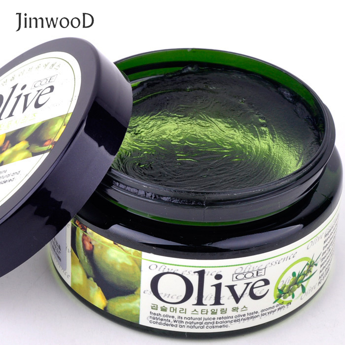 1pc 100ml Olive Hair Wax Ablaze Modelling Matte Strong Modelling Mud For Women Hair Styling Product Moisture Essence