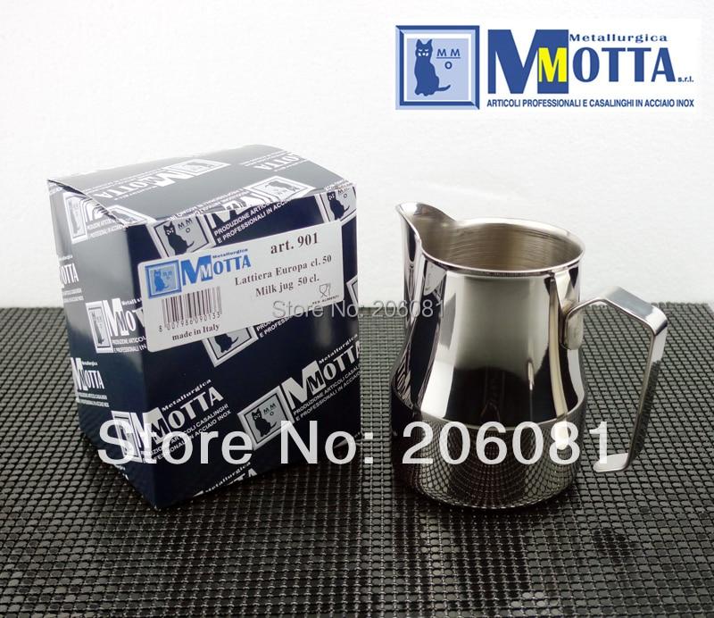 Motta Professional Europa Milk Pitcher /Motta Europa Milk Foaming Jug/stainless steel milk jar milk