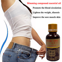 Natural Burning Slimming Essential Oil Anti Cellulite Thin Waist Slimming Cream Lose Weight Compound Essential Oil