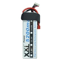 XXL RC Battery 5200mah 18.5V 5S 30C MAX 75C RC Toys & Hobbies For Helicopters RC Models Li-polymer Battery