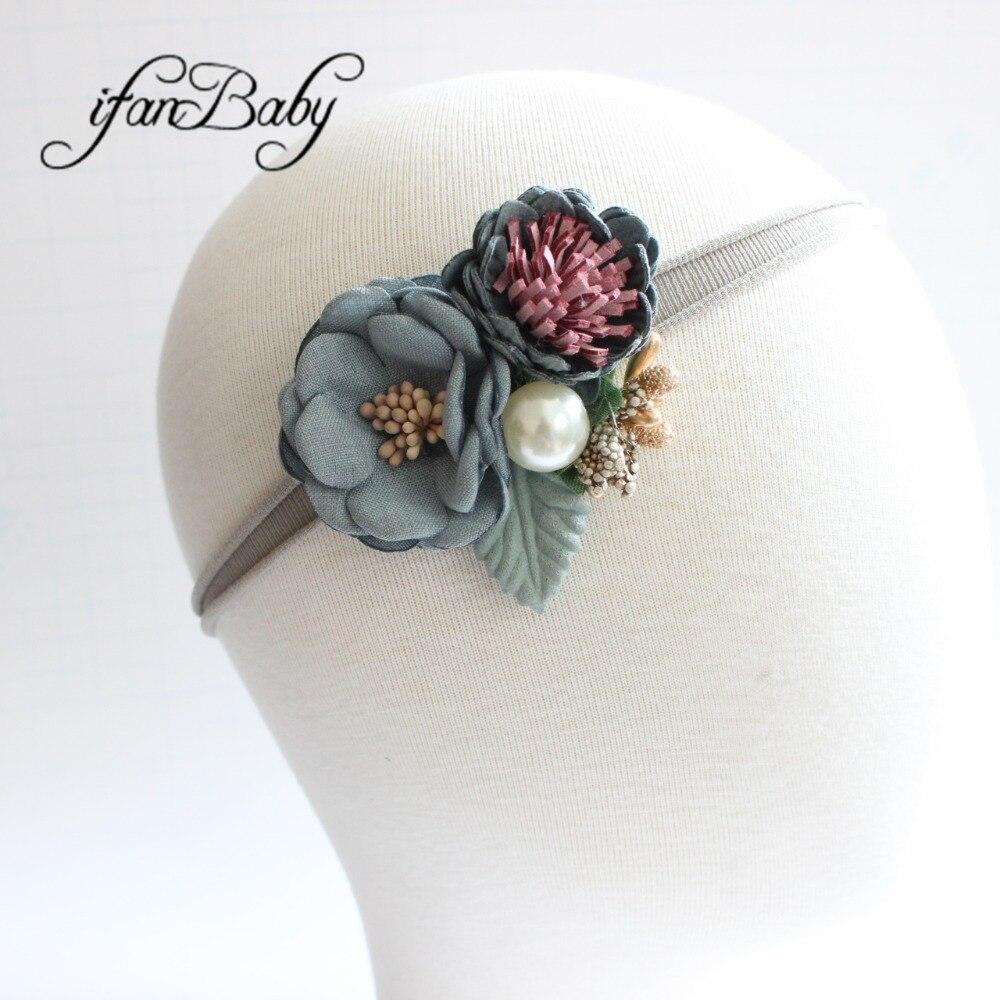 kids girl nylon flower headband (9)