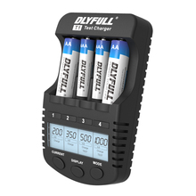 DLYFULL t1 battery chargers for aa batteries LCD Intelligent Charger for Ni-MH Ni-CD AAA AA Rechargeable