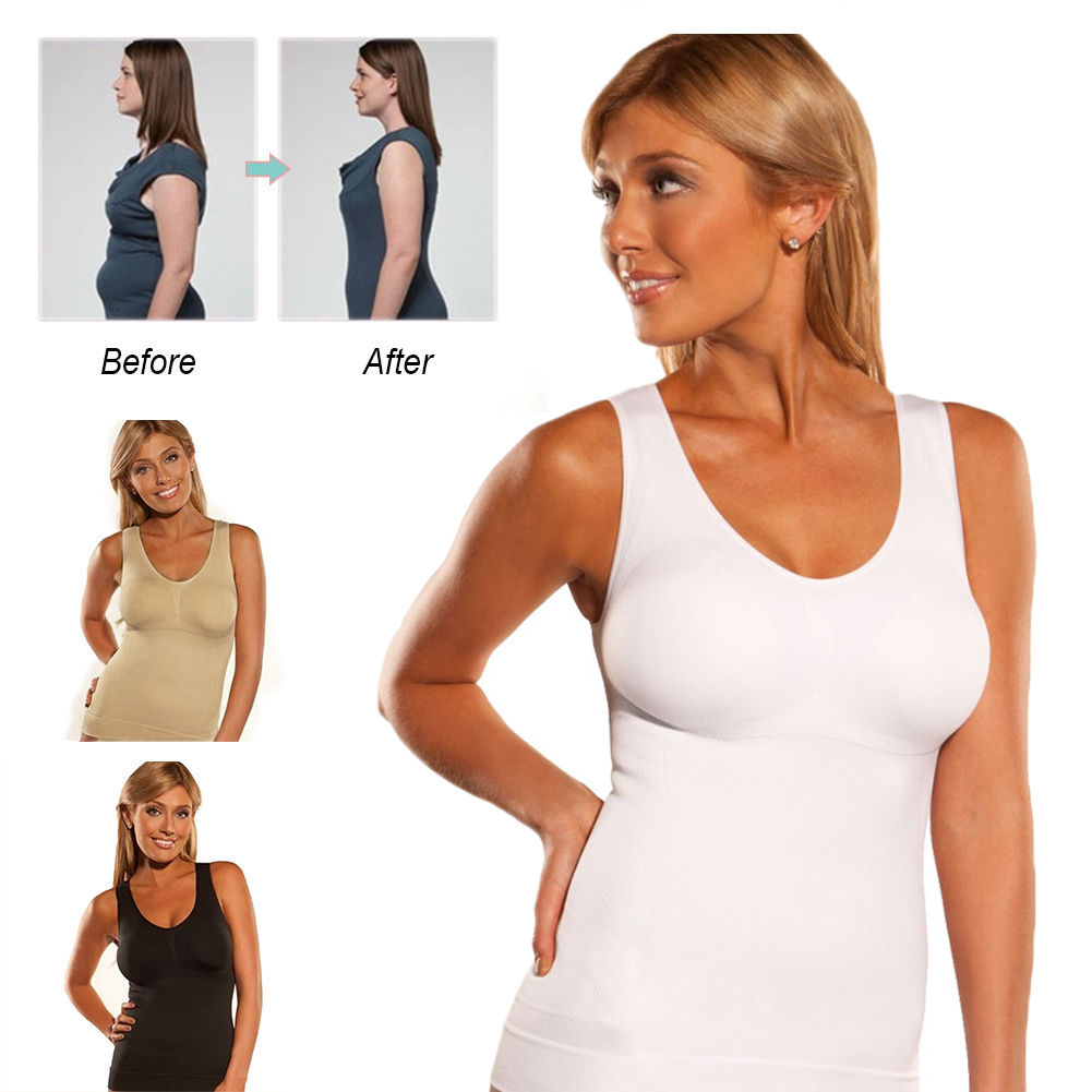 2793218bc45 Detail Feedback Questions about Women Tummy Fat Slimming Waist Trainer Vest  Top Corset Plus size For Weight Loss on Aliexpress.com
