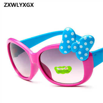 2017 Children Goggle Girls Alloy Sunglasses Hot Fashion  Boys Girls Baby Child Classic Retro Cute Sun Glasses