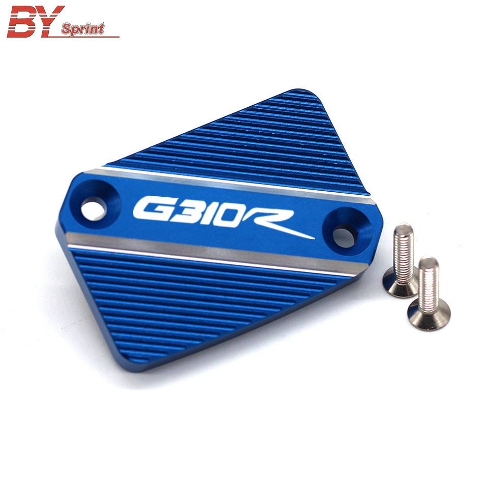 2018 G310R Motorcycle CNC Aluminum Accessories Front Brake Master Cylinder Fluid Reservoir Cover For <font><b>BMW</b></font> <font><b>G</b></font> <font><b>310R</b></font> G310 R 2017-2018 image