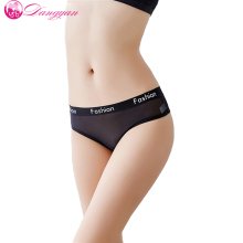 Women Sexy Panties Ultra-thin Mesh Transparent G String Thongs Seamless Briefs Breathable Underwear Lingerie