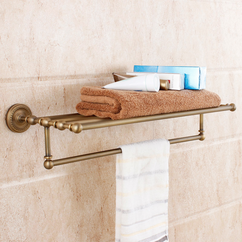 2015 Sale New Toallero Fashion Bathroom Copper Retro Vintage Antique Finishing Double Layer Towel Rack Brass Accessories Glove no name платье детское gucci page 4