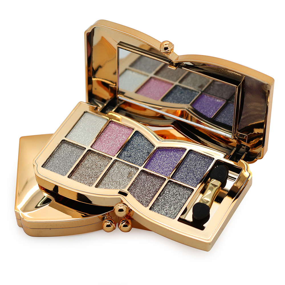 8 Colors New Diamond Bright Makeup Eyeshadow Palette Maquillage Eye Shadow Professional Make Up Eyeshadows Cosmetic With Brush Fashionable In Style;
