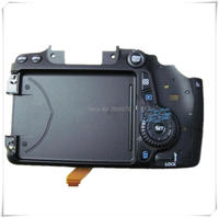 New original 70D Back cover 70D After the shell with key with flex for Canon 70D cover SLR Camera Repair Part