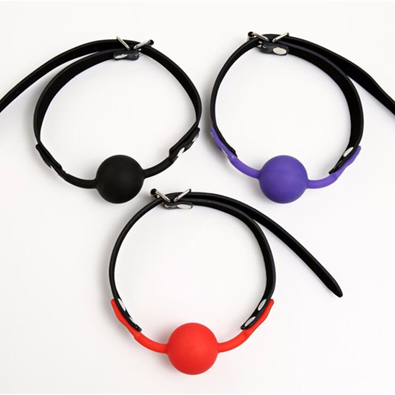 Sexy Lingerie Hot Erotic Erotic Toys Silicone Ball Open Mouth Gag Sex Bondage Mouth Stuffed Adult Mouth Ball Exotic Accessories