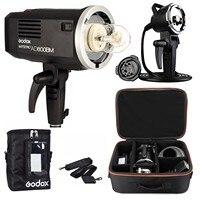Godox AD600BM руководство версия HSS 1/8000 s 600 Вт GN87 Открытый вспышка света (Bowens гора) С Батарея сумка чемодан для Canon Nikon