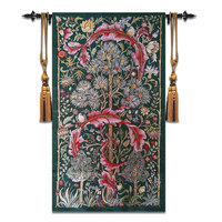 84x140cm William Morris Works Tree of Life Belgium Tapestry Wall Carpet Moroccan Decor Tapestry Gobelin Wall Cloth Hanging