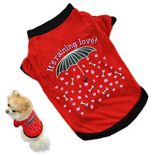 Excessive High quality 2016 canine clothes Pet Canine garments small Costume low-cost wears Garments T-shirt Summer season chihuahua merchandise for canines