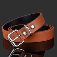 Buena calidad de los niños de moda cinturones de cuero para niños niñas chico de correa de la cintura cinturón de PU para Pantalones vaqueros pantalones ajustable Z30