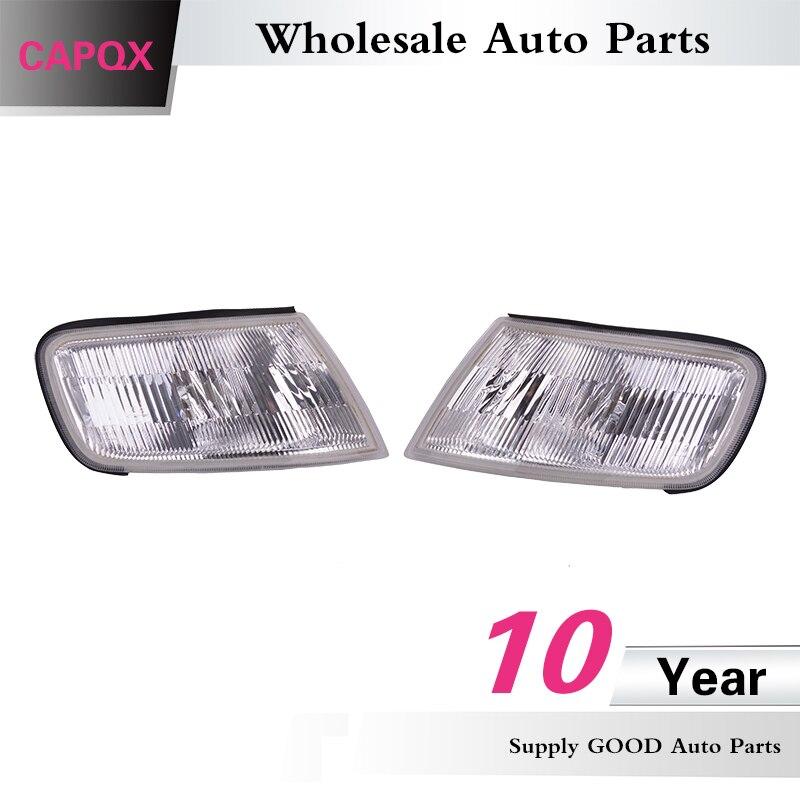 CAPQX 2PCS Right & Left white color Front headlight POSITION &SIDE ...