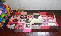 40pcs Set EVA Foam Play Mat Baby Puzzle Floor Mats Fences Carpet Pad Toys For Children