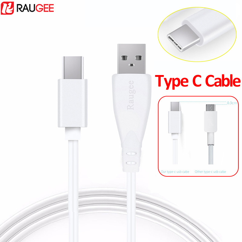 Raugee Type-C Cable For USB Type C 1M Charging Data Cord Adapter Charger Cable For Blackview BV9500 Pro BV9600 Pro BV6800 Pro