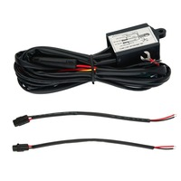 High Quality 30w DRL Controller Auto Car LED Daytime Running Light Relay Harness Dimmer On Off
