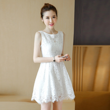 19ab5d8e2a3c9 Buy white dress korean and get free shipping on AliExpress.com