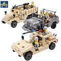 Века Военные США М2 Половина Трек Американский Воздушно-Десантных Войск Строительный Блок Игрушки Модель Кази KY82003 KY82004 KY82007