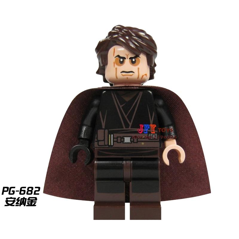 Confident Single Sale Star Wars Anakin Xh335 Luke R2-d2 R4-p17 Action Legoing Building Blocks Education Model Toys Bricks Children Blocks Toys & Hobbies