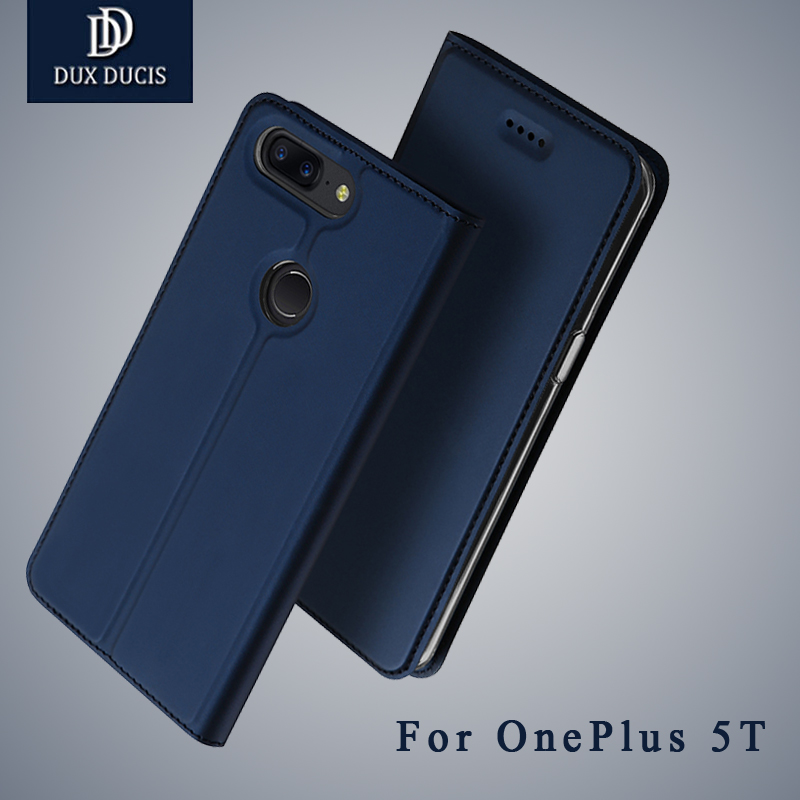 Dux Ducis cases For One Plus 5T case Wallet Leather cover For OnePlue 5T 5 Flip Leather case For One Plus 5 T OnePlus5T cover