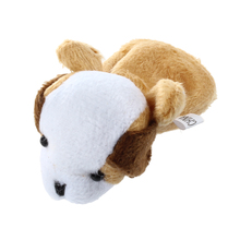 Coffee Dog Hand Puppet Finger Puppets