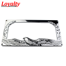 loyalty car stying 2pcs jdm front rear eagle look usacanada license plate frame tag - Eagle License Plate Frame