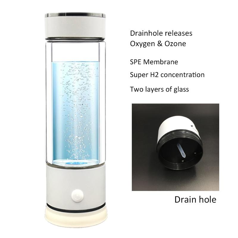 La 5th Generazione di Idrogeno Ricco Generatore di Acqua Ionizzatore con Foro di Scarico
