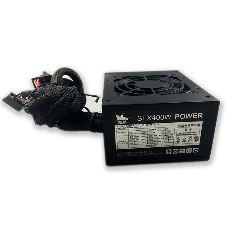 400W Mini Psu 12v Power Supply 24 Pin PCI SATA ATX 12V PC Computer Power Supply For Desktop Gaming Power Supply Sfx