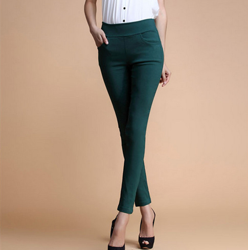 New 2017 Women Jeans Fashion Candy Color Skinny Pants low waist 4 Pockets Cotton Trousers Fit Lady Jeans Women Pants M-XL A0150